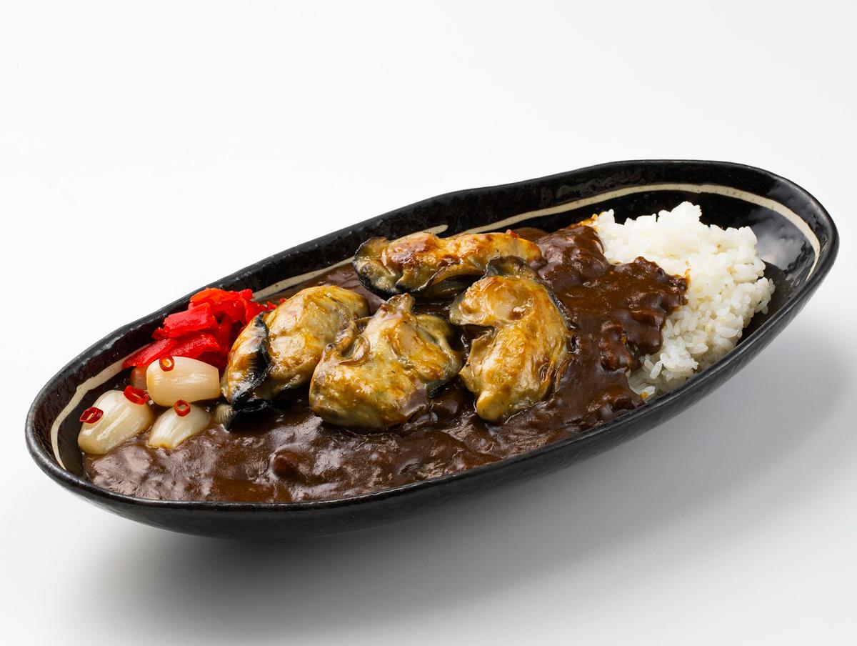 恵比寿牡蠣カレー(1人前)(891円)【欧風ライスカレーKen's】