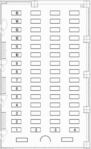 福岡商工会議所 貸会議室401〜404号室