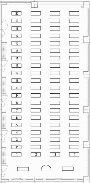 福岡商工会議所 貸会議室401〜405号室