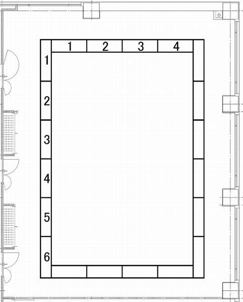 福岡商工会議所 貸会議室401〜403号室