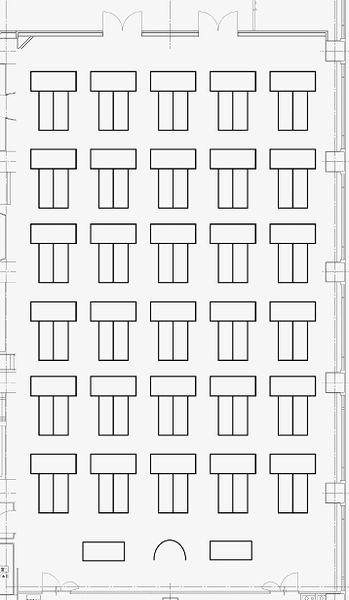 301号室 T字型