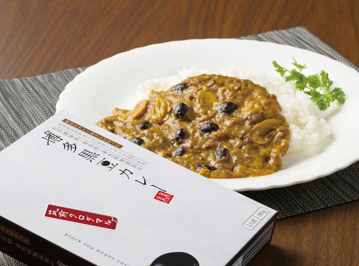 博多黒豆(筑前クロダマル)カレー (180g/1人前)(681円)【Hono】