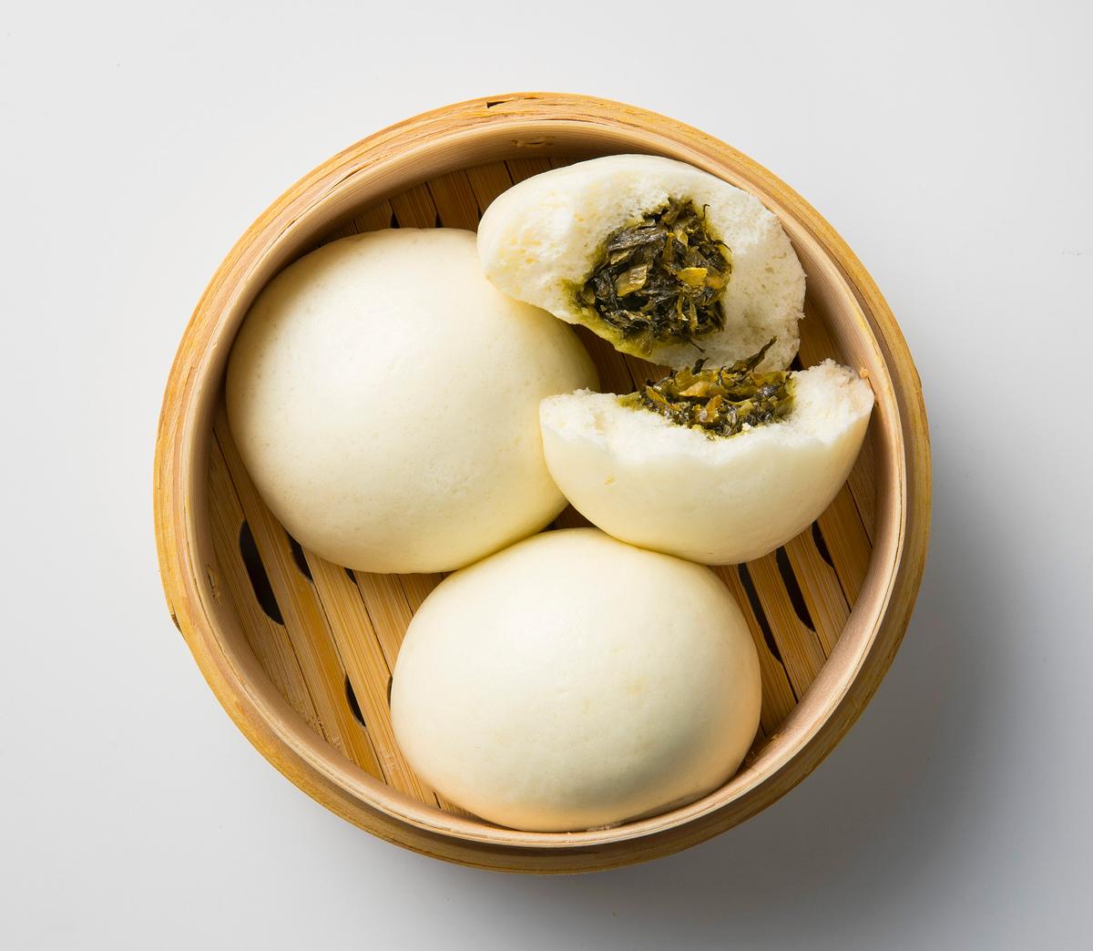 高菜まんじゅう(3個入り)(501円)【ささき製菓】