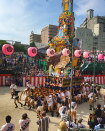 博多祇園山笠の見学