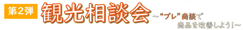 オンライン de 観光マッチング2021 プレ相談会
