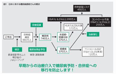 日本における糖尿病患者さんの実態